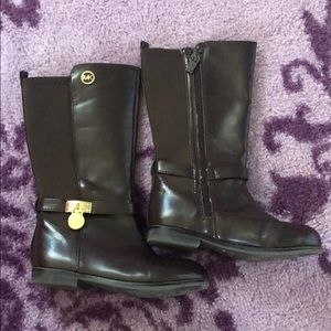 Michael Kors, size 10, brown riding boots